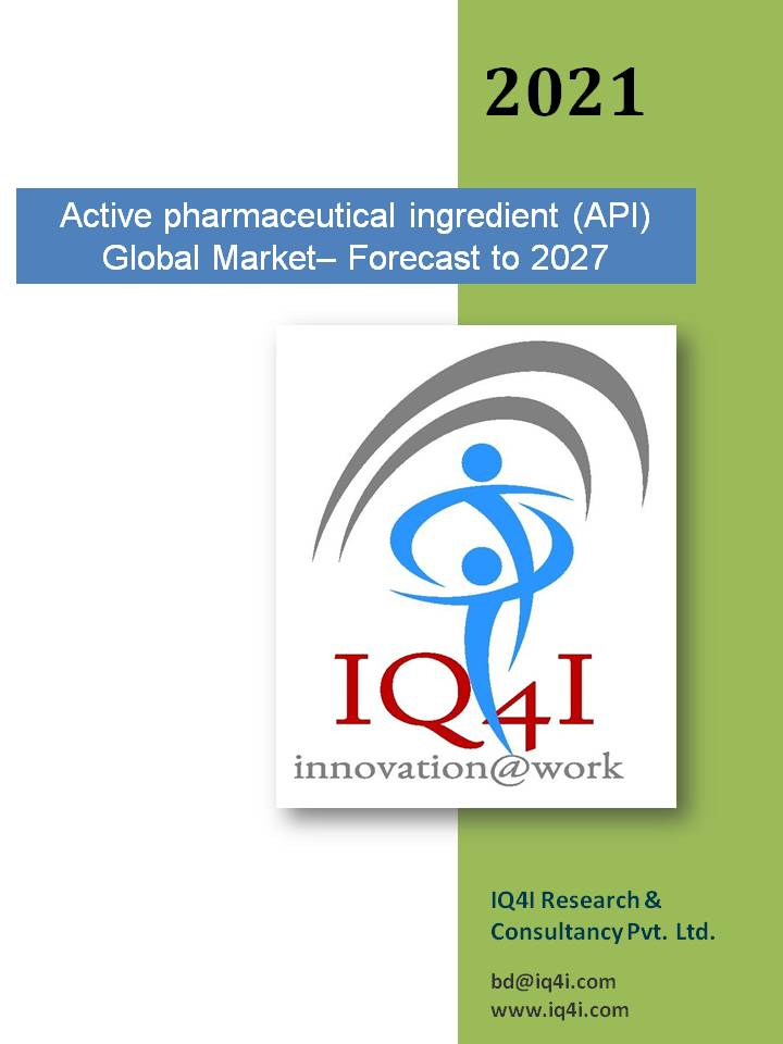 Active pharmaceutical ingredient (API) Global Market – Forecast To 2027