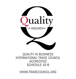 IQ4I Quality Accredit Certificate