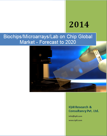Biochips (microarrays/Lab on chip) Global Market - Forecast to 2021